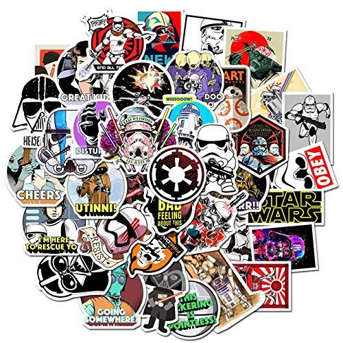 LMY 50pcs Classic Movie Planet Graffiti Sticker Wars Maleta Trolley Case Guitar Waterproof Sticker