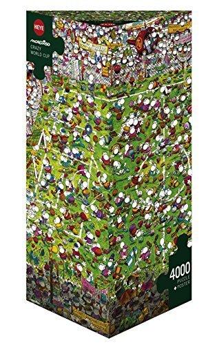 Paul Lamond Games - Mordillo 29072 Puzzle - Crazy World Cup (4000Pcs) by Paul Lamond Games