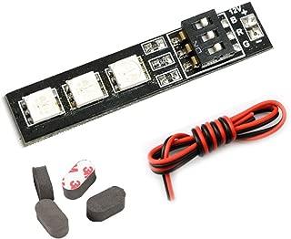 RGB LED Light Board 5050 for RC Drone, RC Car and DIY + 4PCS Sponge Landing Pad … (12V - 1PC)