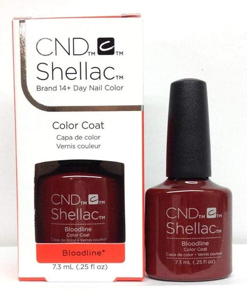 ビン優雅なコンバーチブルCND Shellac - Bloodline - 7.3 mL / 0.25 oz