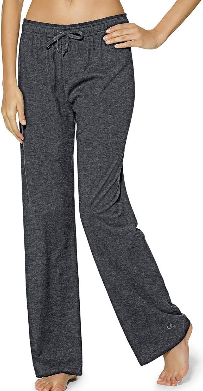 Champion Authentic Women's Jersey Pants_Granite Heather_XXLarge