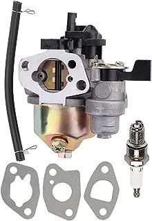 Coolwind GX160 GX200 Carburetor for Honda GX140 GX 160 GX168 GX 200 5HP 5.5HP 6.5HP Engine Water Pump Pressure Washer Carb with Spark Plug Rep 16100-ZH8-W61