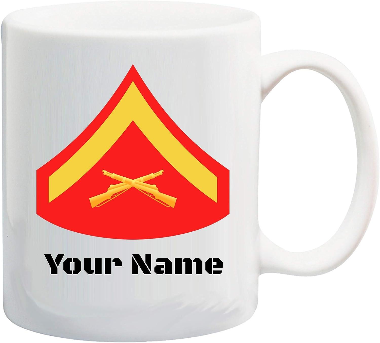 U.S. Marine Corps Popular brand in the world Customizable Rank gift Insignia Ceramic Coffee Coco