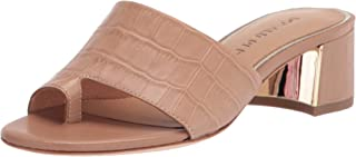Donald J Pliner womens Heeled Sandal, Camel, 6 US
