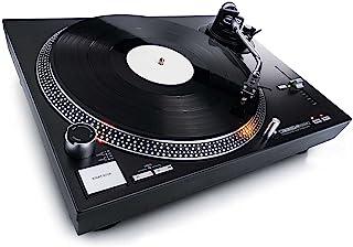 Reloop RP-4000 MK2 DJ-draaitafel met sterke directe aandrijving, Zwart