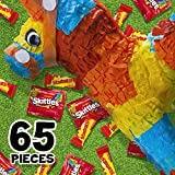 SKITTLES & STARBURST Christmas Candy Fun Size Variety Mix 31.9-Ounce Bag, 65 Pieces