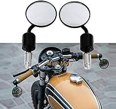 lega di alluminio bar End specchietti retrovisori laterali 360/rotazione Duokon 7//20,3/cm 22/mm universale moto specchietti retrovisori