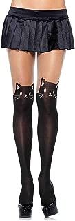 Women's Cute Animal Spandex Opaque Sheer Pantyhose