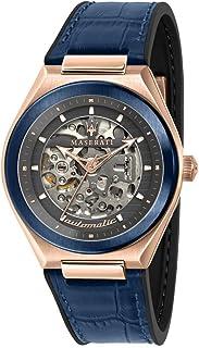 Reloj para Hombre, Colección TRICONIC, en Acero, PVD Oro Rosa, Piel - R8821139002