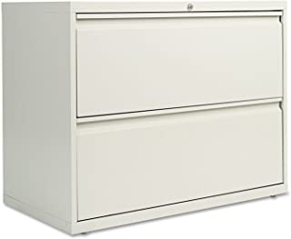 Alera LF3629LG Two-Drawer Lateral File Cabinet, 36w X 19-1/4d X 28-3/8h, Light Gray
