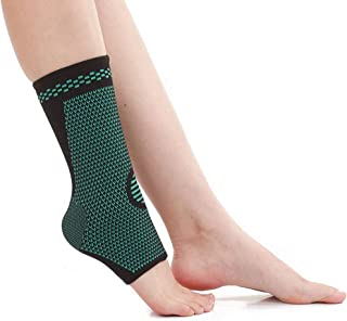 HEJANG Womens Yoga Sports Workout Athletic High-Waist Hip Bottom Leggings Exercise Nine-Minute Pants Soft Running Gym 2019