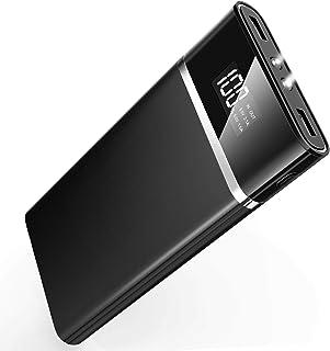 Anero モバイルバッテリー 大容量 24000mah スマホ充電器 iPhone/Android対応 黒
