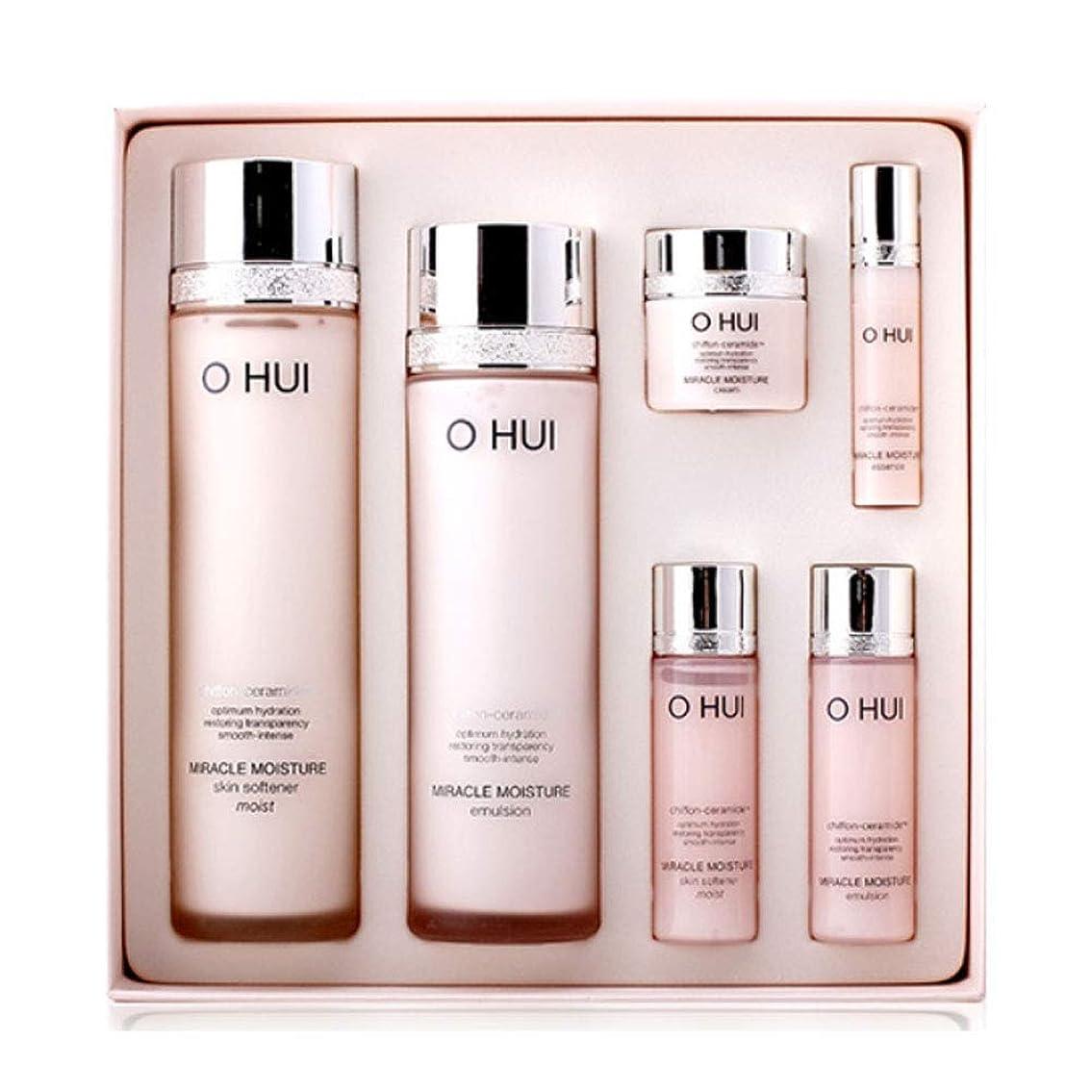ジョグ作曲家タンクオフィミラクルモイスチャースキンソフナーエマルジョンセット韓国コスメ、O Hui Miracle Moisture Skin Softener Emulsion Set Korean Cosmetics [並行輸入品]