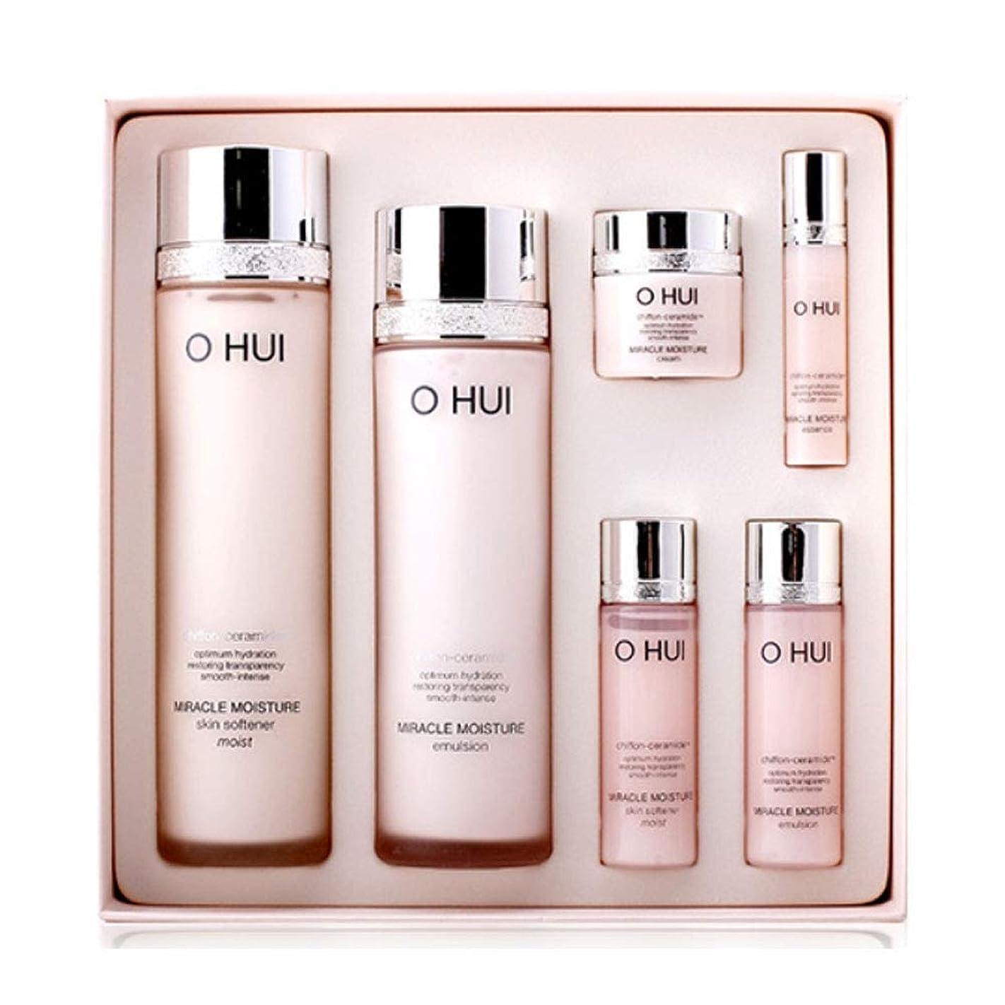 ジャケットエピソード回転するオフィミラクルモイスチャースキンソフナーエマルジョンセット韓国コスメ、O Hui Miracle Moisture Skin Softener Emulsion Set Korean Cosmetics [並行輸入品]
