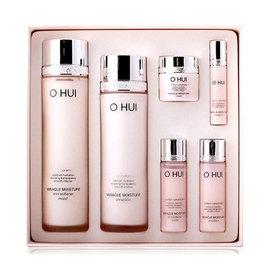 ゴム称賛移動するオフィミラクルモイスチャースキンソフナーエマルジョンセット韓国コスメ、O Hui Miracle Moisture Skin Softener Emulsion Set Korean Cosmetics [並行輸入品]