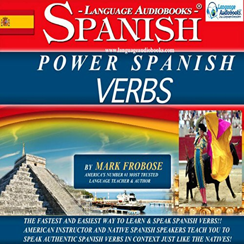 Power Spanish Verbs: English and Spanish Edition audiobook cover art