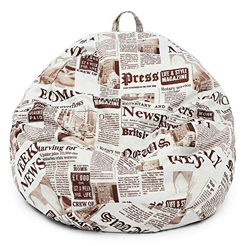 Sitzsackstuhl Kinderfüllte Tierspeicher-Bag-Säuglinge, Sofa-Taschen, die Kinder Plüschspielzeuge speichern können, tragbare Stapelstühle, Leinenüberdachungsstuhlabdeckungen werden zur Organisation von