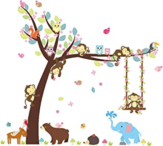 ElecMotive Cartoon Forest Animal Monkey Owls Hedgehog...