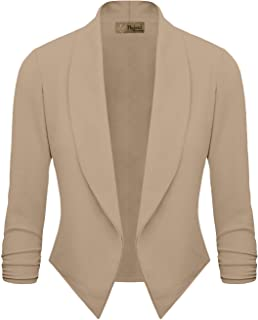 d7273755d78 HyBrid   Company Womens Casual Work Office Open Front Blazer Jacket Made in  USA