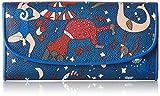 piero guidi Wallet, Portafoglio Donna, Blu (Blu di Prussia), 19x10x2 cm (W x H x L)