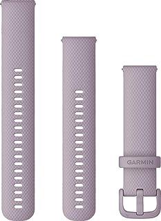 Garmin Schnellwechsel-Armbänder silicone, lavendel - suitable for Venu SQ, Venu SQ Music