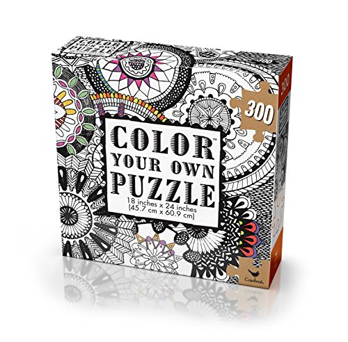 Cardinal Adult Coloring Puzzle Styles May Vary