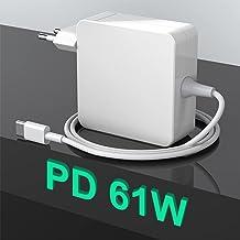 Fuente de alimentación USB C de 61W tipo C, cargador de T-Tip PD, repuesto para Mac Book 2016/2017/2018/2019/2020 Pro/Air,...