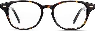 Boca Blu Blue Light Blocking Reading Glasses | UV Light Filtering Anti Glare High Optical Quality Glasses for Men/Women (+2.5, Atlas Brown Tort)
