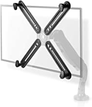 """NEDIS Non-VESA adapter do monitora na ścianę i biurko, zestaw do montażu na monitorze 13-27"""", maks. 8 kg, czarny"""