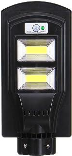 BBZZ Lampe solaire de sécurité à LED 100/200/300 COB avec détecteur de mouvement PIR et télécommande (couleur : 100 COB)