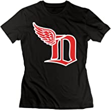 Women's Best Detroit Red Wings Mix Tshirts Size M Black