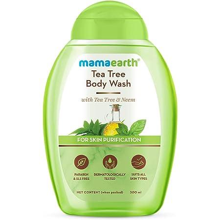 Mamaearth Tea Tree Body Wash With Tea Tree & Neem, Shower Gel For Skin Purification – 300 ml