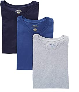Polo Ralph Lauren Men's Slim Fit w/Wicking 3-Pack Crews