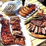 ミートガイ BBQ 大人気 バーベキューセットA (合計約2.5kg 4-7人前) サーロインステーキ ソーセージ ポークバックリブ