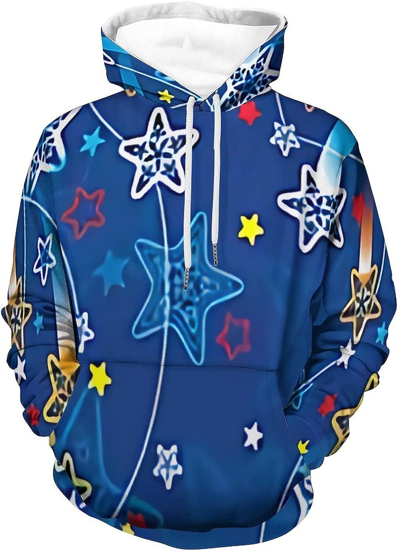 Vuegzt Meteor Bargain Men's Slim Long Mesa Mall Pullover Sleeve Lightweight Hoodie