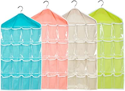 Candy Colour Wardrobe Mount Bag Organizer (Colours May Vary)