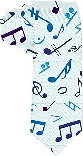 Regalo de corbata de notas musicales de corbata para hombres ...