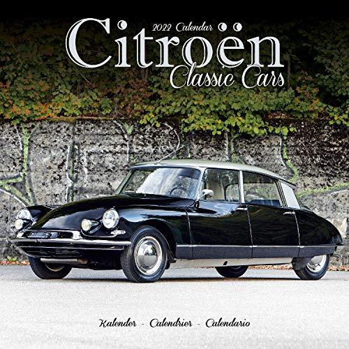 Citroën Classic Cars - Oldtimer von Citroën 2022 – 16-Monatskalender: Original Avonside-Kalender [Mehrsprachig] [Kalender] (Wall-Kalender)