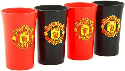 Manchester United FC officiel verre Chope thème football avec blason