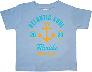 inktastic Atlantic Soul Florida Sanibel Island 2020 with Anchor Toddler T-Shirt