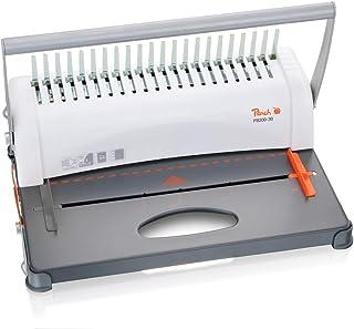 comprar comparacion Peach PB200-30 - Encuadernadora de plástico (para tamaños A4, incluye un set de inicio de 15 piezas, 350 hojas)