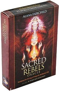 ユニーク&本格ライフ45枚のカードデッキボードゲームタロット占いリビングための神聖な反乱軍のOracleガイダンス,Sacred rebels oracle