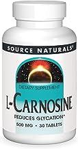 SOURCE NATURALS L-Carnosine 500 Mg Tablet, 30 Count