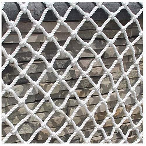 Filet de Protection Réseau Sécurité Réseau Protection Filet de sécurité Corde en Nylon Rouge Filet Blanc Balcon Décoration Corde de sécurité Filet utilisé pour la Protection des Animaux de c