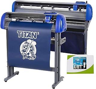 "USCutter 28"" Titan 3 Vinyl Cutter with Servo Motor & ARMS Contour Cutting Plus Design/Cut Software"