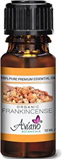 Organic Frankincense Essential Oil Ultra Premium 100% Pure Therapeutic Grade Sweet Boswellia Sacra - Very High Potency, Undiluted By Avíanō Botanicals - 10ml