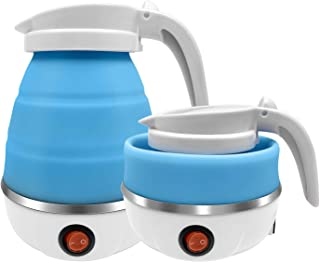 Travel Portable Foldable Electric Kettle Collapsible Water Boiler For Coffee Tea Fast Water Boiling 110V 600ML