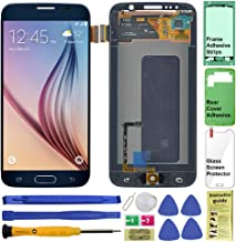 Display Touch Screen (AMOLED) Digitizer Assembly with Home Button for Samsung Galaxy S6 (5.1 inch) G9200 G920A G920P G920T...