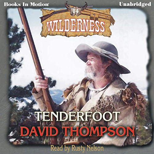 Tenderfoot audiobook cover art