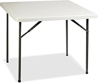 Lorell Banquet Table, 36 by 36 by 29-Inch, Platinum